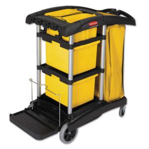 Rubbermaid® Commercial HYGEN™ HYGEN™ Microfiber Healthcare Cleaning Cart