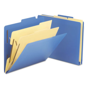 Smead® Six-Section Poly Classification Folders