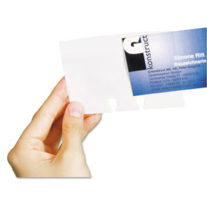 Durable® VISIFIX® Business Card Sleeves