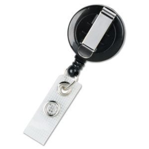 GBC® Retractable Name Badge Reel with Clip