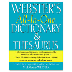 Merriam Webster® Dictionary and Thesaurus