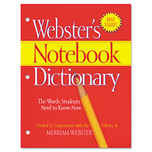 Advantus® Webster's Notebook Dictionary