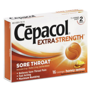 Cepacol® Extra Strength Sore Throat Lozenges