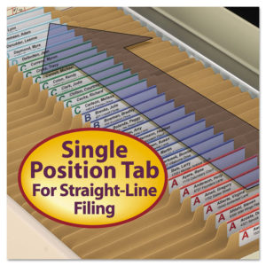Smead® Top Tab Fastener Folders