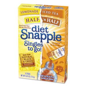 diet Snapple® Diet Iced Tea Drink Mix Singles