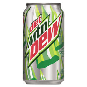 Mountain Dew® Diet Citrus Soft Drink