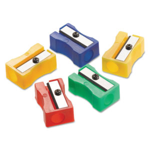 Westcott® One-Hole Manual Pencil Sharpeners