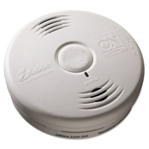 Kidde Bedroom Sealed Battery-Operated Smoke Alarm with Voice Alarm