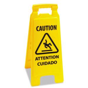 Boardwalk® Site Safety Wet Floor Sign