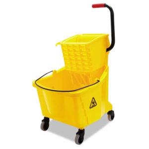 Boardwalk® Pro-Pac™ Side-Squeeze Wringer/Bucket Combo