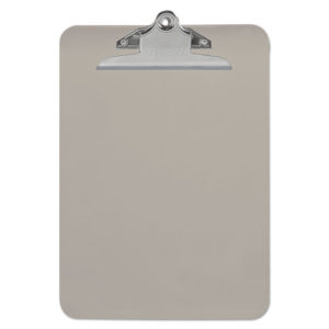 Universal® Plastic Clipboard with High Capacity Clip