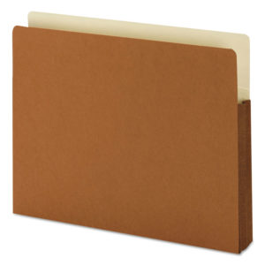 Smead® Redrope Drop Front File Pockets with Tyvek® Lined Gussets