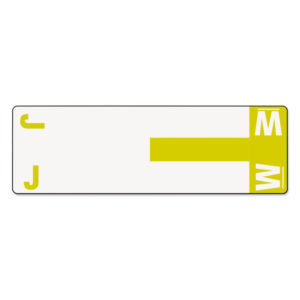 Smead® Alpha-Z® Color-Coded First Letter Combo Alpha Labels