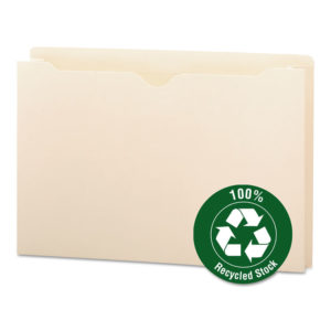 Smead® 100% Recycled Top Tab File Jackets