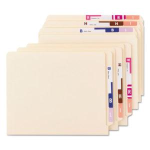 Smead® AlphaZ® Color-Coded Labels Starter Set