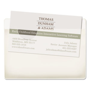 Smead® Self-Adhesive Poly Pockets