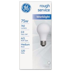GE Rough Service Incandescent Worklight Bulb