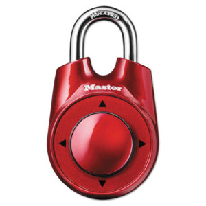 Master Lock® Speed Dial Set-Your-Own Combination Lock