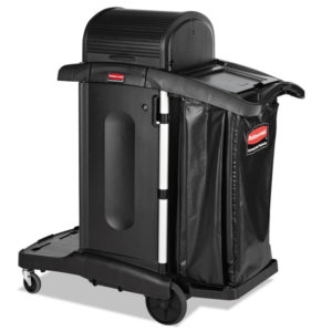 Rubbermaid® Commercial Executive High Security Janitorial Cleaning Cart