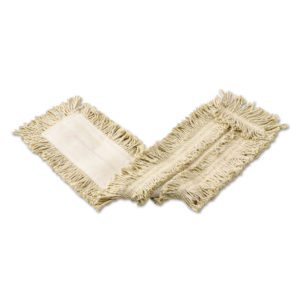 Rubbermaid® Commercial Cut-End Cotton Dust Mop Heads