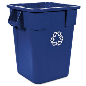 Rubbermaid® Commercial Square Brute® Recycling Container