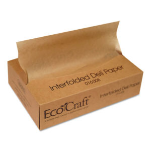Bagcraft EcoCraft® Interfolded Soy Wax Deli Sheets