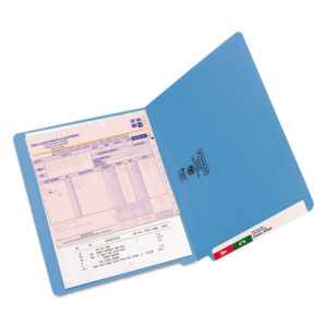 Smead® Reinforced End Tab Colored Folders