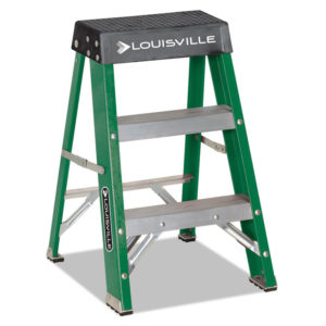 Louisville® Folding Fiberglass Step Stool