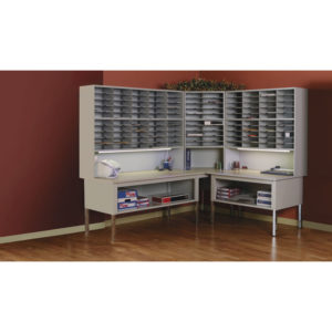 Safco® Mayline® Mailflow-To-Go™ Mailroom System Tables