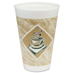 Dart® Café G® Foam Hot/Cold Cups