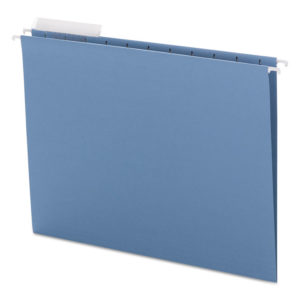 Smead® Color Hanging Folders with 1/3 Cut Tabs