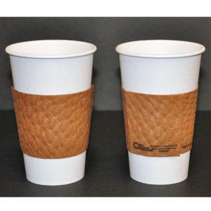 Dopaco® Kraft Hot Cup Sleeves