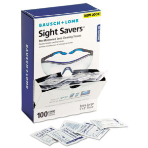 Bausch & Lomb Sight Savers® Premoistened Lens Cleaning Tissues