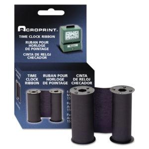 Acroprint® Model 125 Heavy-Duty Manual Print Time Recorder Ribbon