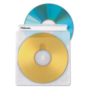 Fellowes® Double-Sided CD/DVD Sleeves