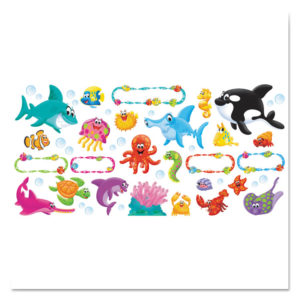 TREND® Sea Buddies™ Classic Accents® & Bulletin Board Sets
