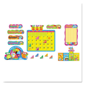 TREND® Owl-Stars!® Classic Accents® & Bulletin Board Sets