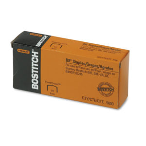 Bostitch® B8® PowerCrown™ Premium Staples