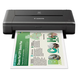 Canon® PIXMA iP110 Photo Inkjet Printer