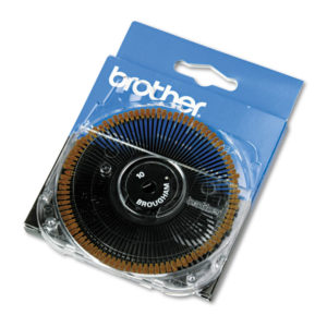 Brother Cassette Daisywheel for Brother Typewriters