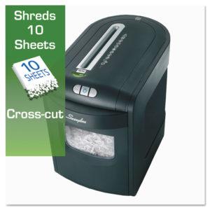 GBC® EX10-06 Cross-Cut Jam Free Shredder