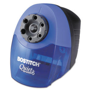 Bostitch® QuietSharp™ 6 Classroom Electric Pencil Sharpener