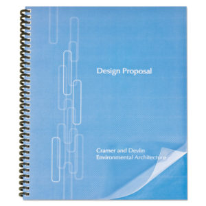 GBC® ProClick® Pre-Punched Presentation Covers