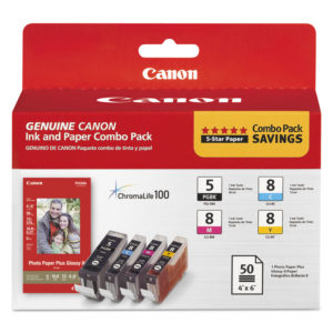 Canon® 0628B027 Inks & Paper Pack