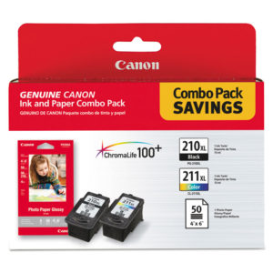 Canon® 2973B004 Ink & Paper Pack