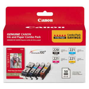 Canon® 2945B011 Inks & Paper Pack
