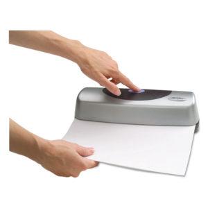 Swingline® Electric/Battery Portable Desktop Punch