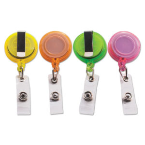 Advantus Deluxe Retractable ID Card Reel