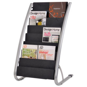Alba™ Literature Floor Display Rack