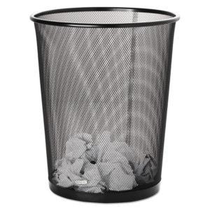 Rolodex™ Mesh Round Wastebasket